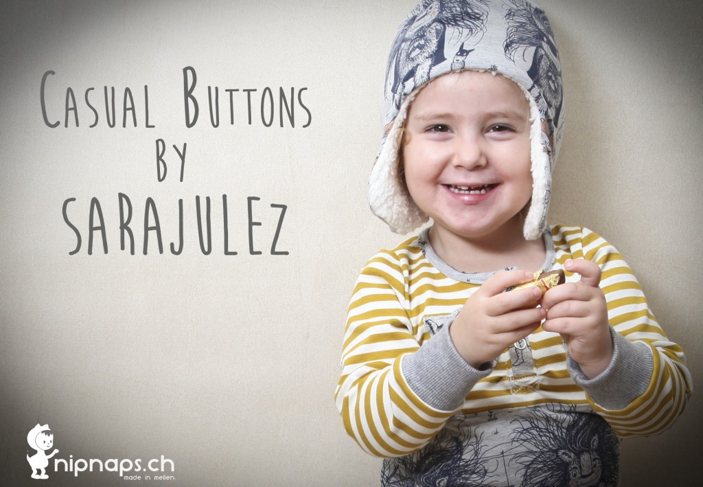 Casual Buttons Boy & Girl von Sarajulez