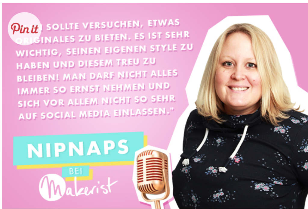 Makerist Interview- meine Designer Story
